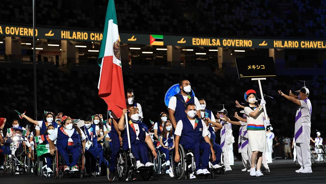Así fue la inauguración de los Juegos Paralímpicos de Tokyo 2020 en fotos