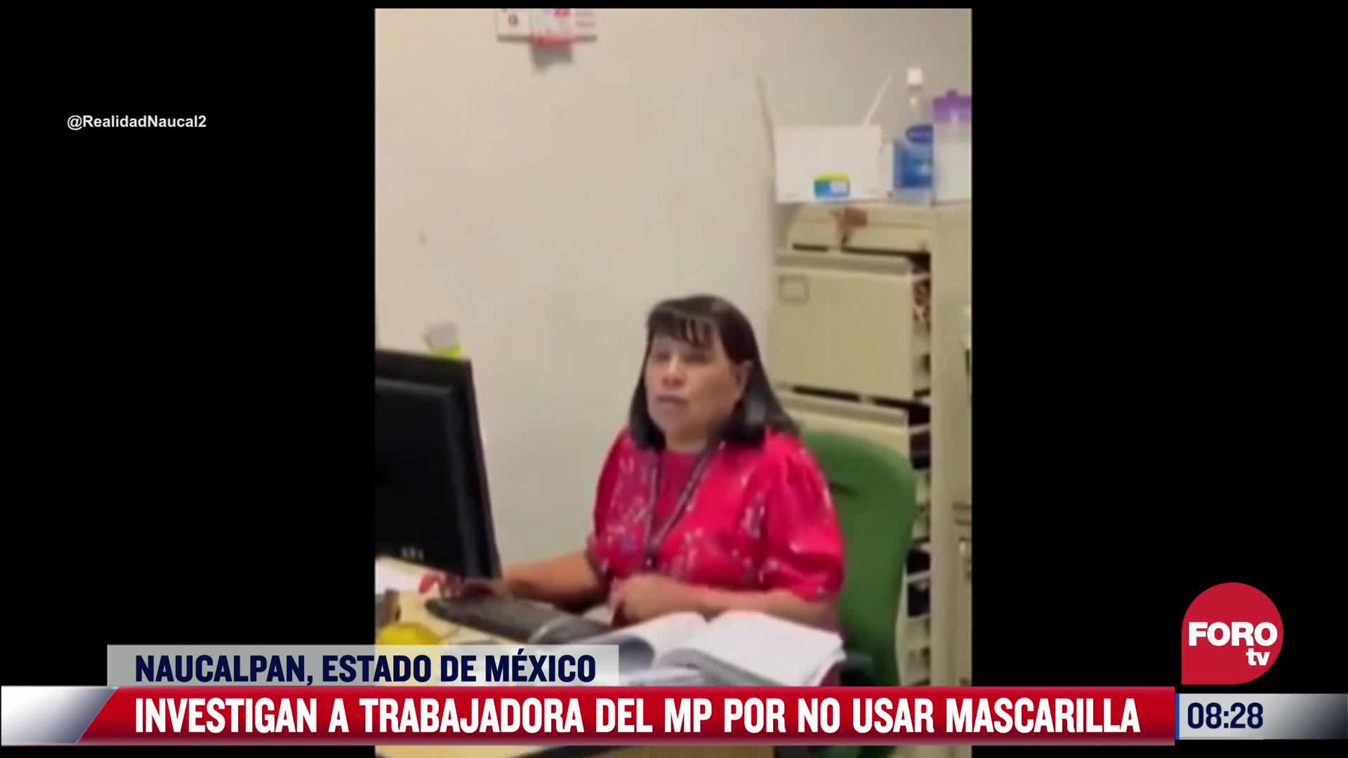 Investigan a funcionaria que se negó a usar cubrebocas y fue denunciada por Jorge D'Alessio