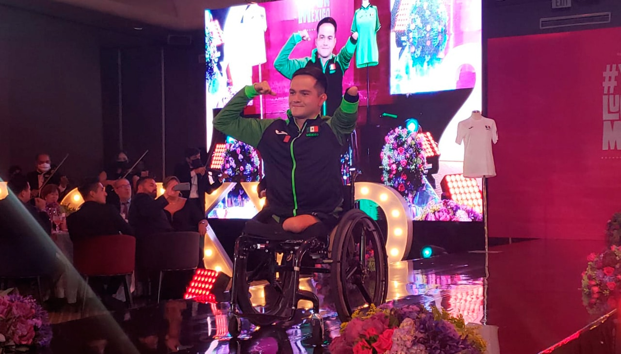 Atletas que representarán a México en los Juegos Paralímpicos de Tokio 2020