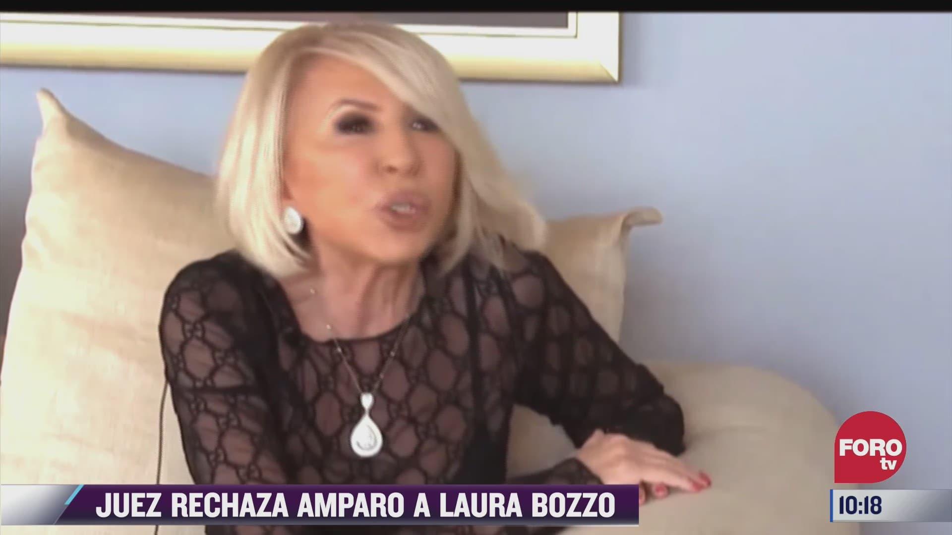 juez descarta tramitar amparo promovido por laura bozzo