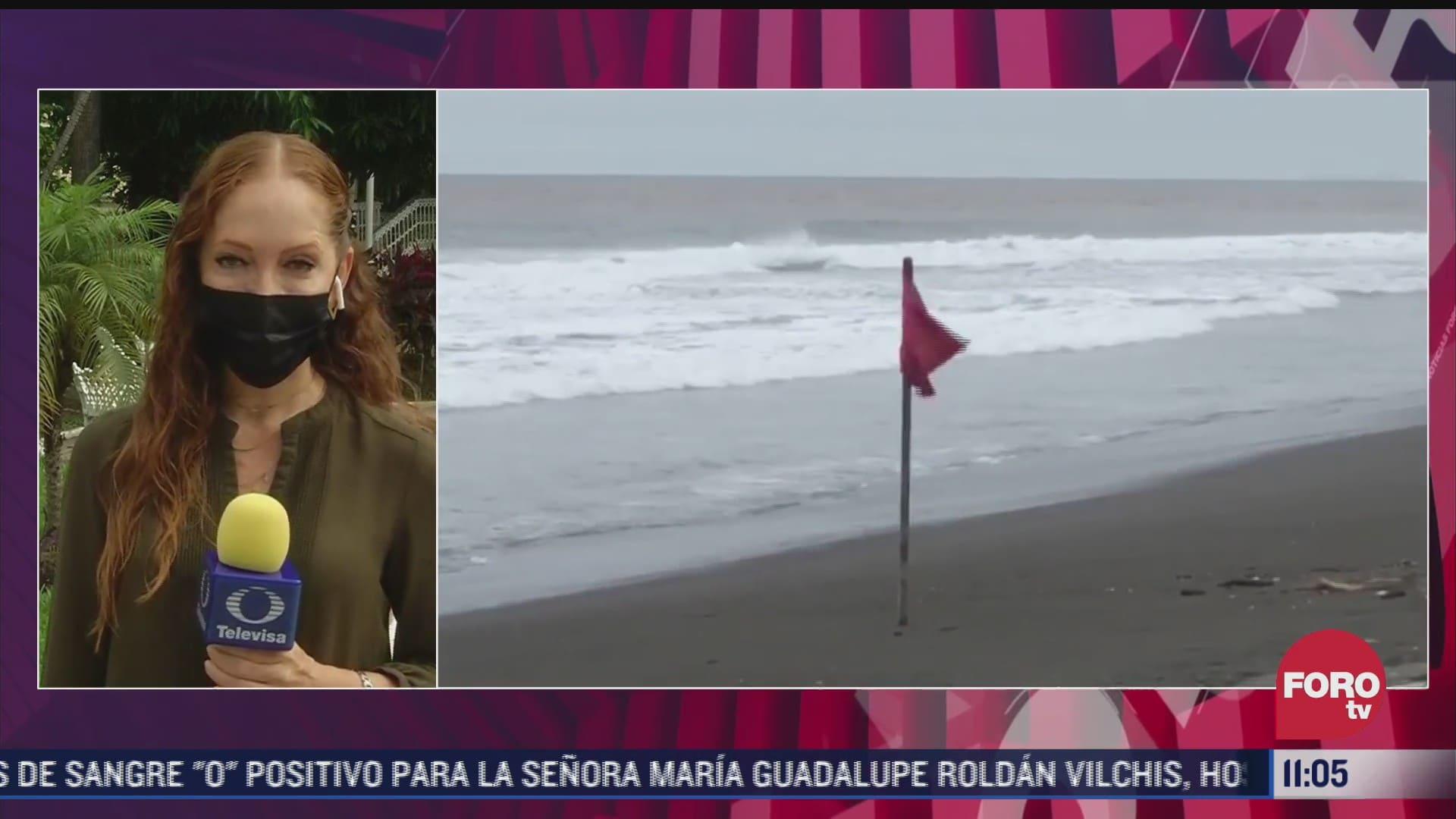 kevin provoca lluvias en colima y varios estados de mexico