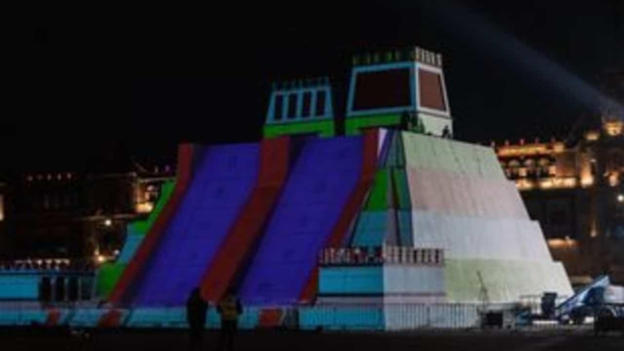 Lista maqueta del Templo Mayor en el Zócalo capitalino; tendrá espectáculo luminoso