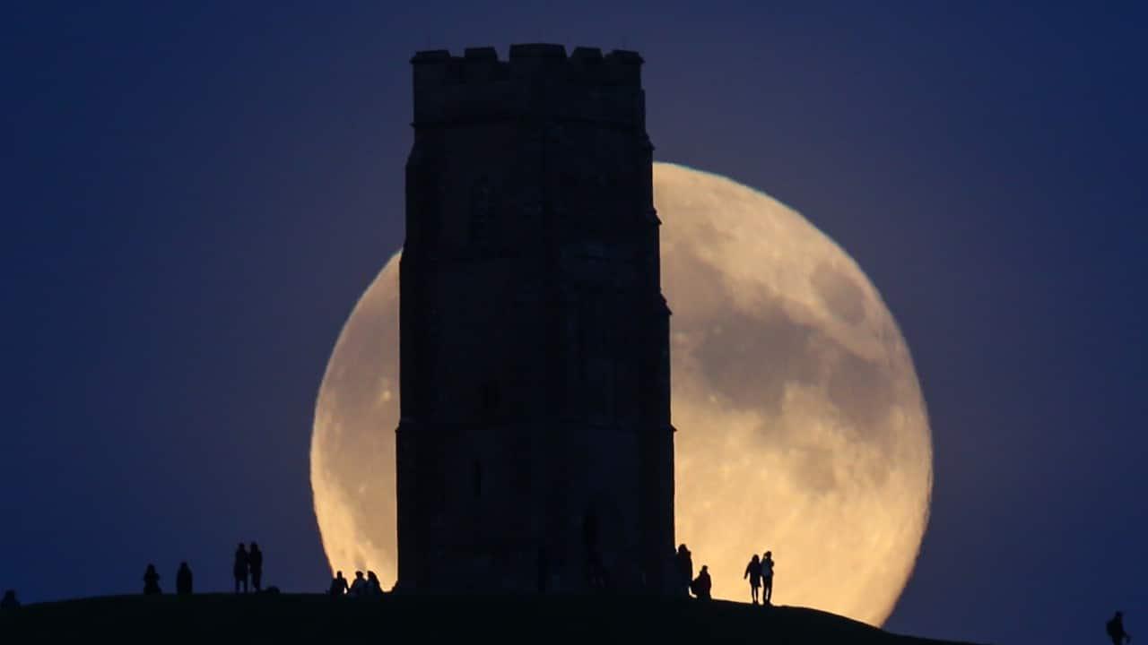 Luna azul, luna llena, astronomía, fenómenos