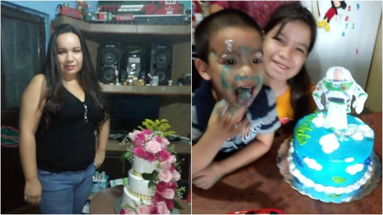 Madre Lavar Ropa Pastel Cumpleaños Hijo