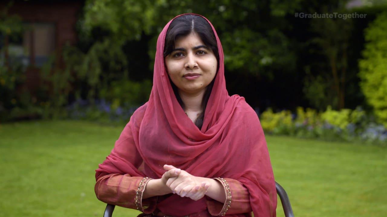 Malala habla de la situación de Afganistán