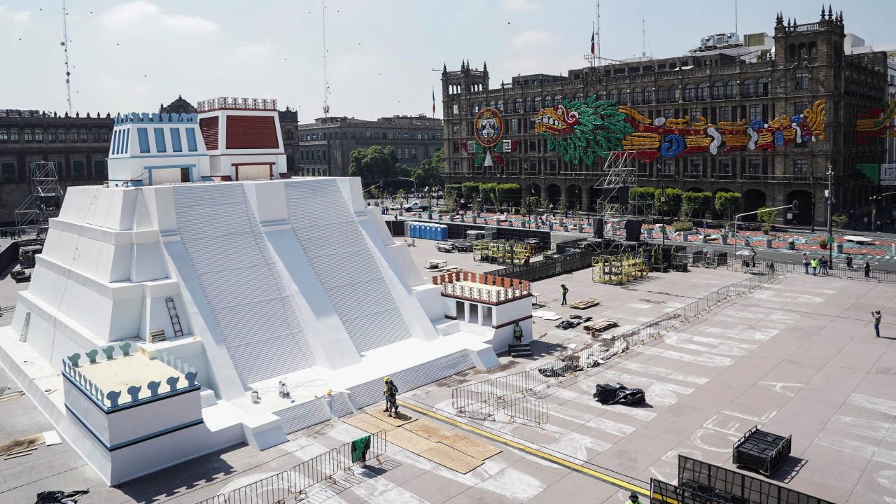 maqueta, templo mayor, zócalo, CDMX