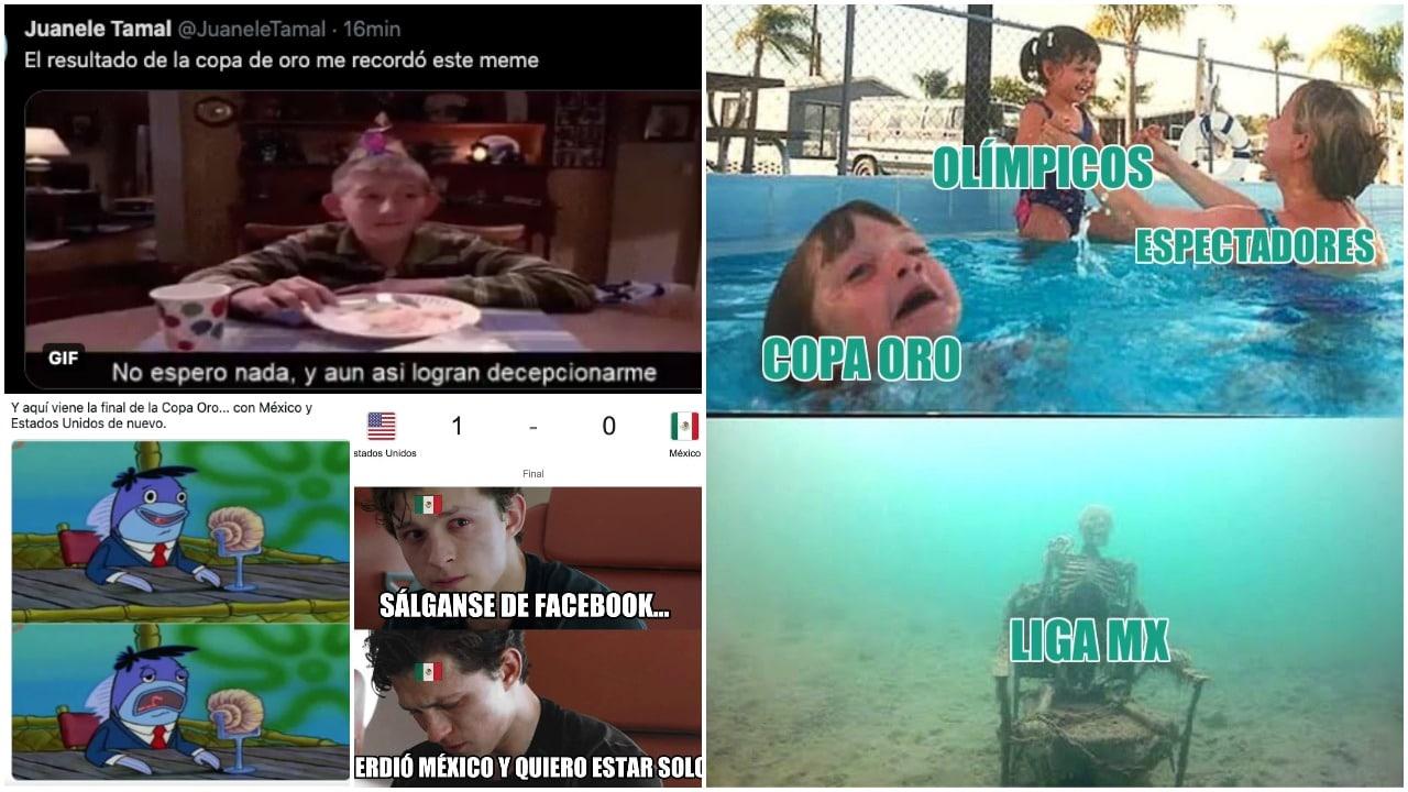 Memes de la derrota de México en la final de la Copa Oro 2021