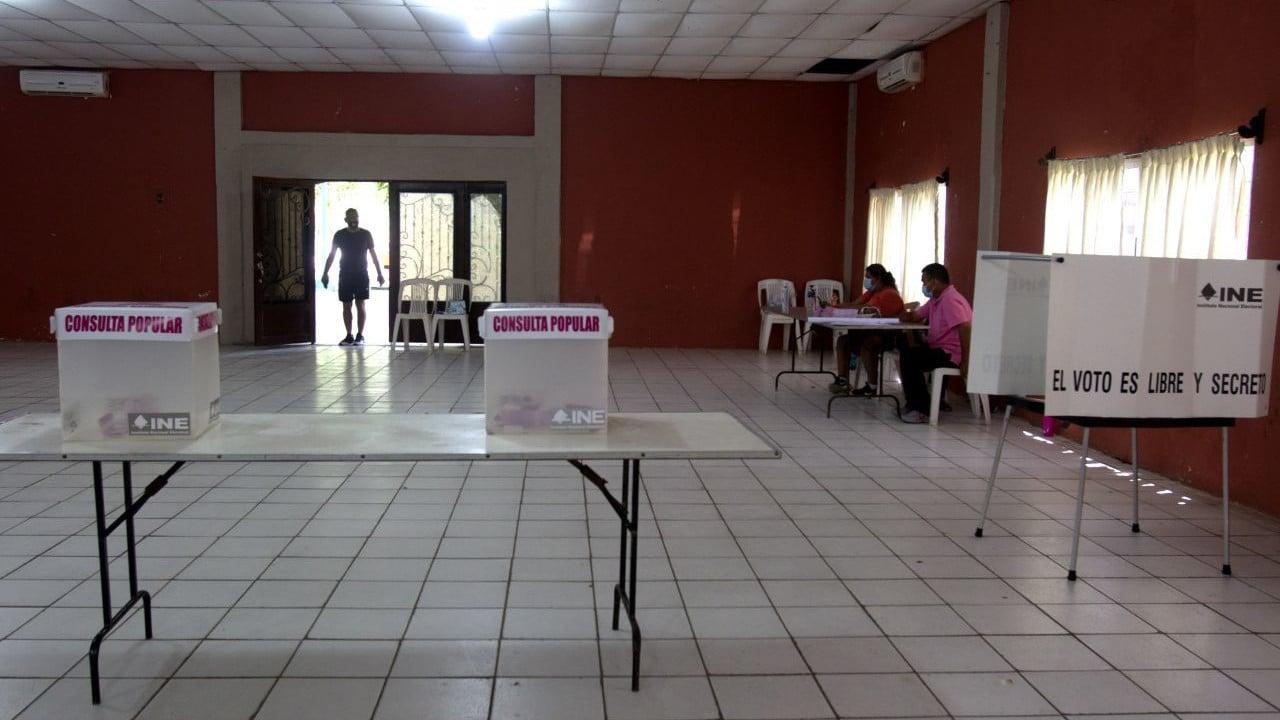 Cierran Mesas de Recepción de Opinión Consulta Popular en México