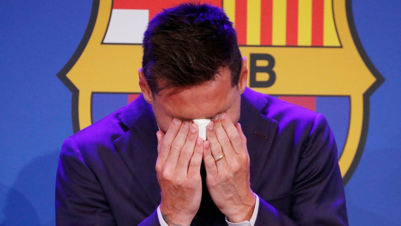 Messi se despide entre lágrimas de un Barcelona del que nunca imaginó irse