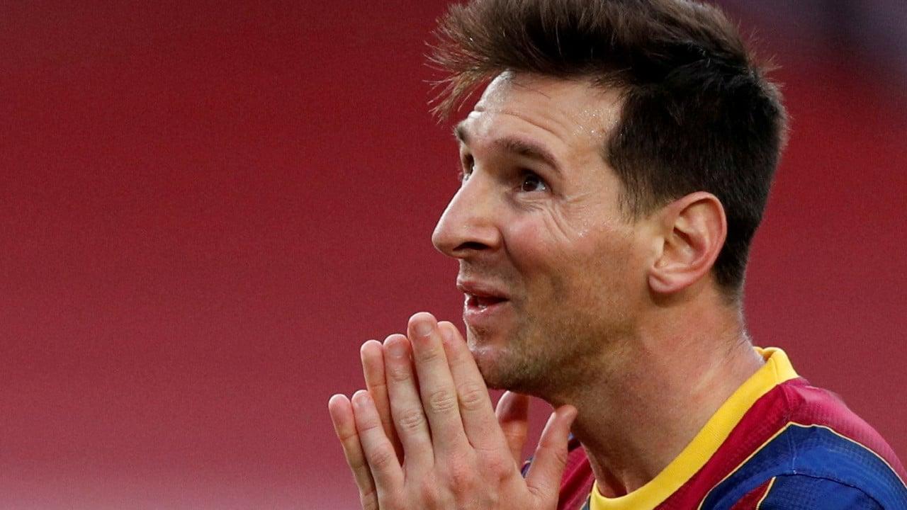 Entrenador del Barcelona envía mensaje de agradecimiento a Messi