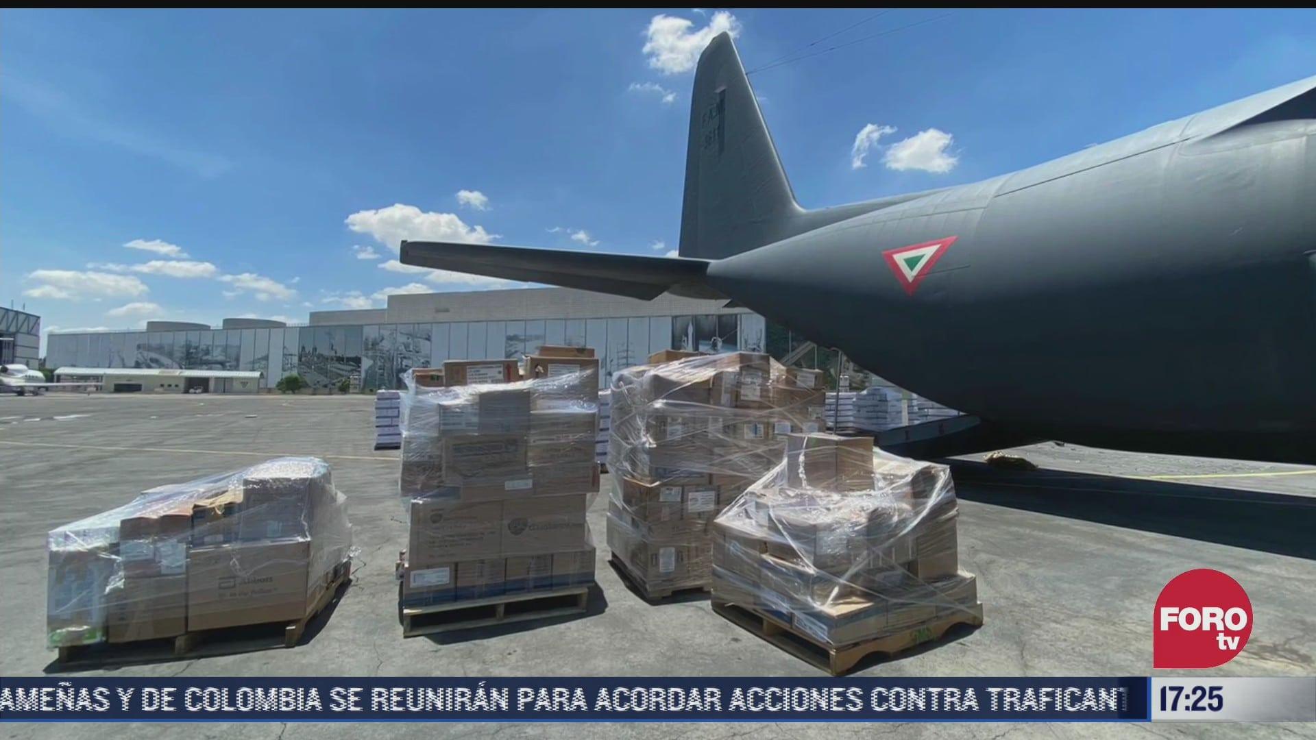 mexico envia ayuda a haiti afectado por terremoto