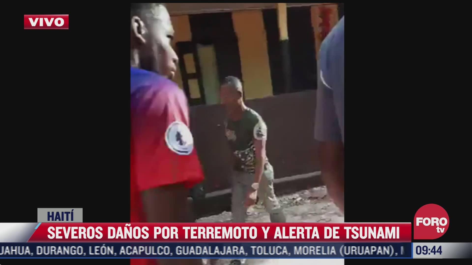 mexico reitera su solidaridad al pueblo de haiti tras sismo sre