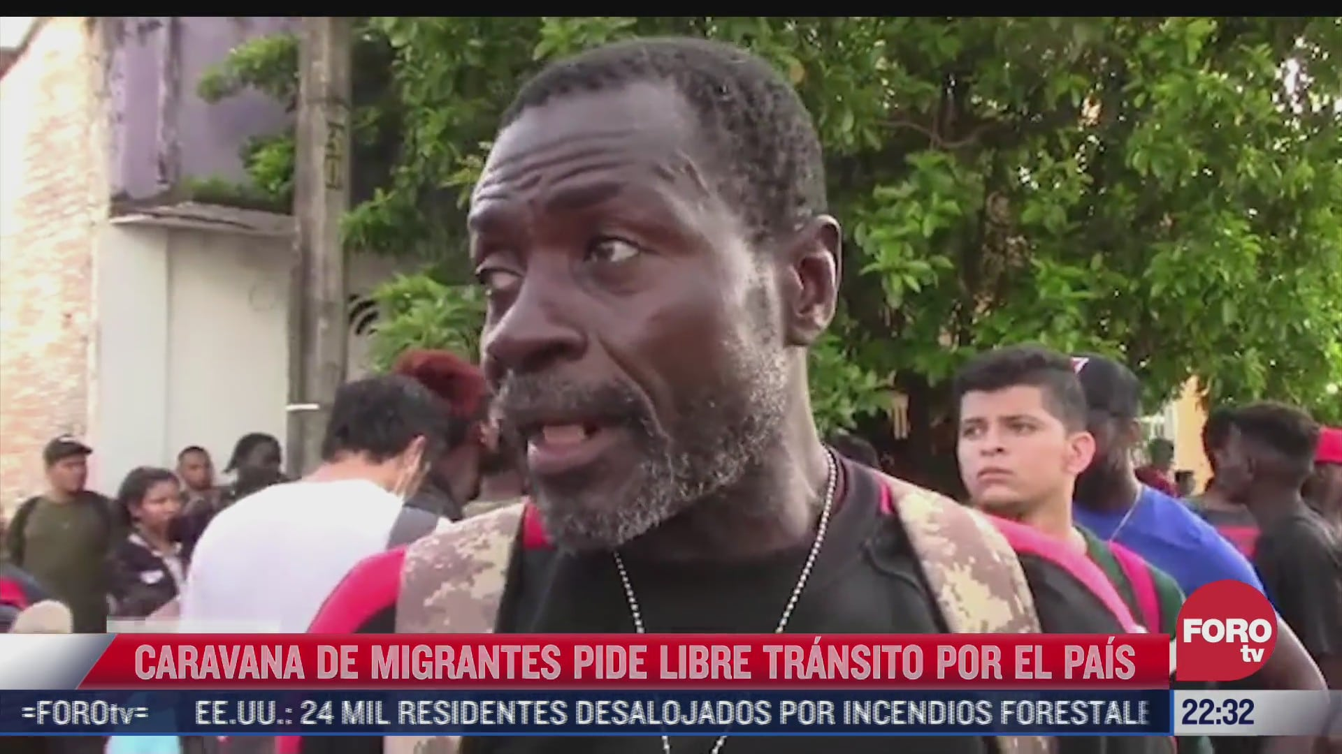 migrantes haitianos forman caravana para salir de tapachula