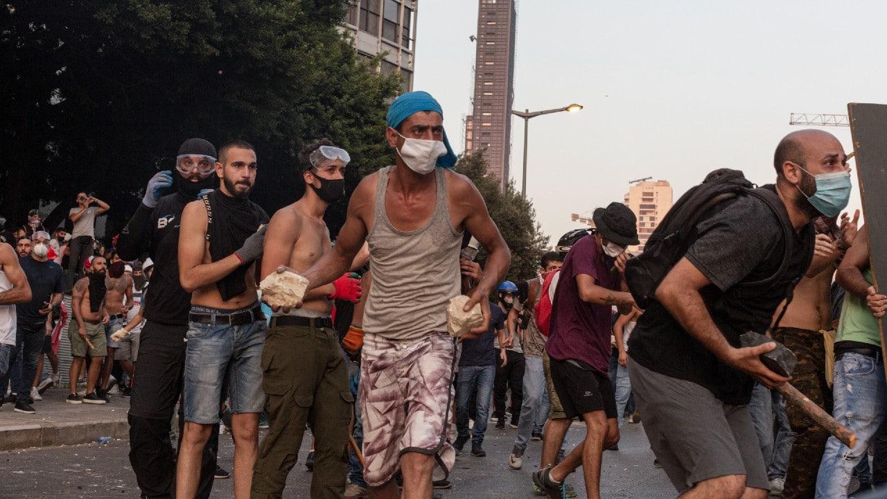 Miles exigen justicia en Beirut por la explosión de hace un año que dejó más de 200 muertos