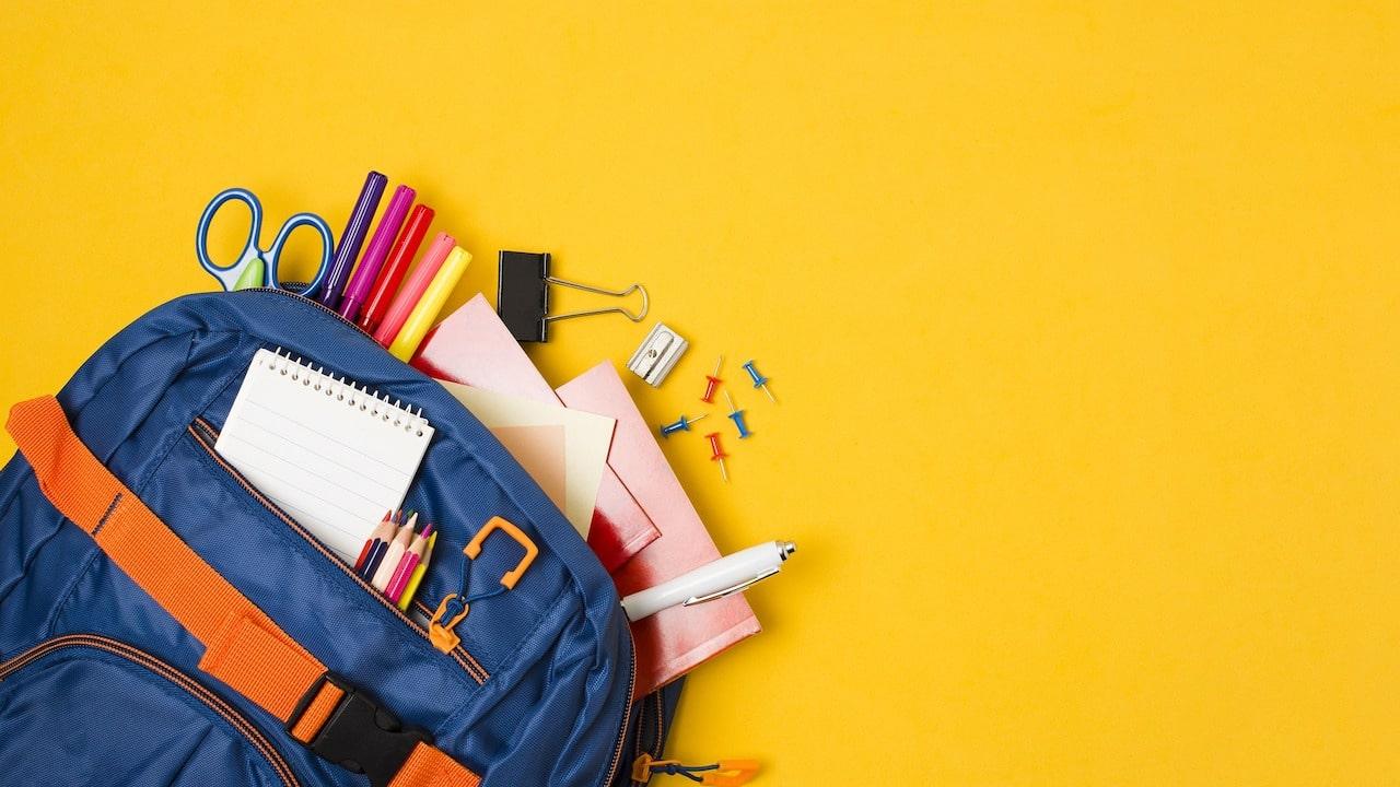 Lista de útiles escolares para el ciclo escolar 2021-2022