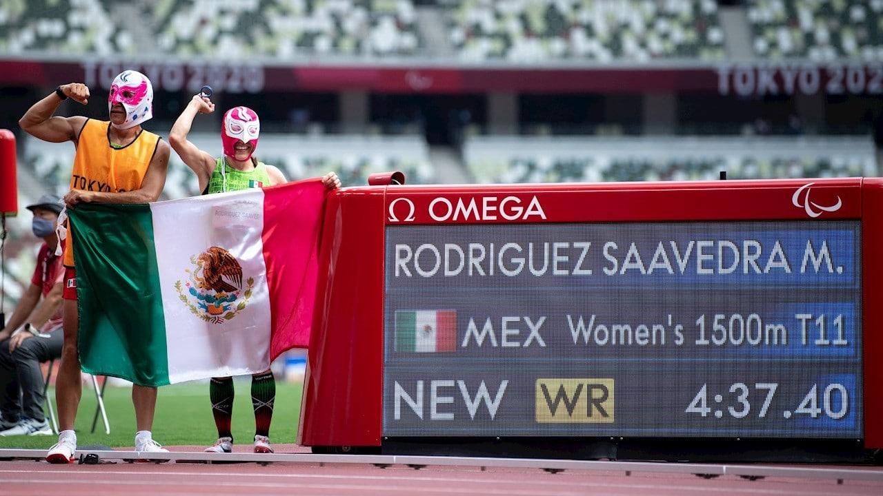 Mónica Rodríguez, Kevin Aguilar, Tokyo 2020, Juegos Paralímpicos, máscaras, luchadores