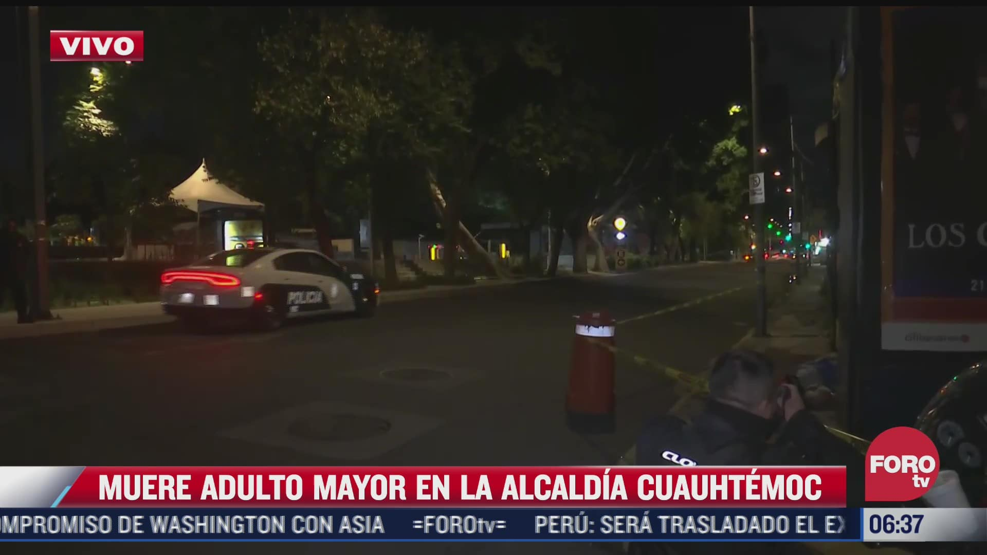 muere adulto mayor en calles de la alcaldia cuauhtemoc cdmx