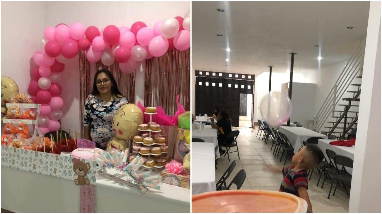 Mujer en León hace baby shower pero nadie asiste y se hace viral en redes sociales