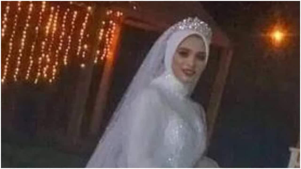Novia en Egipto muere una hora después de celebrar boda
