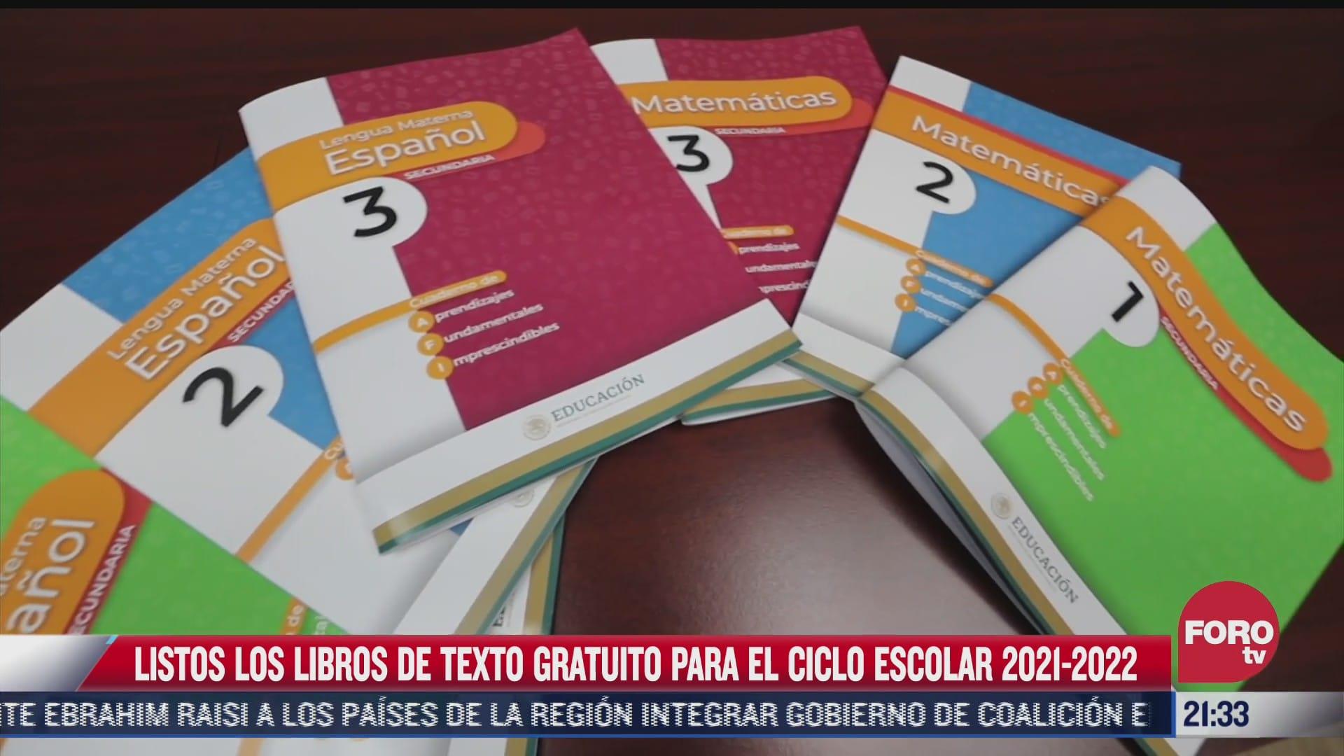 nuevos libros de texto gratuitos de la sep