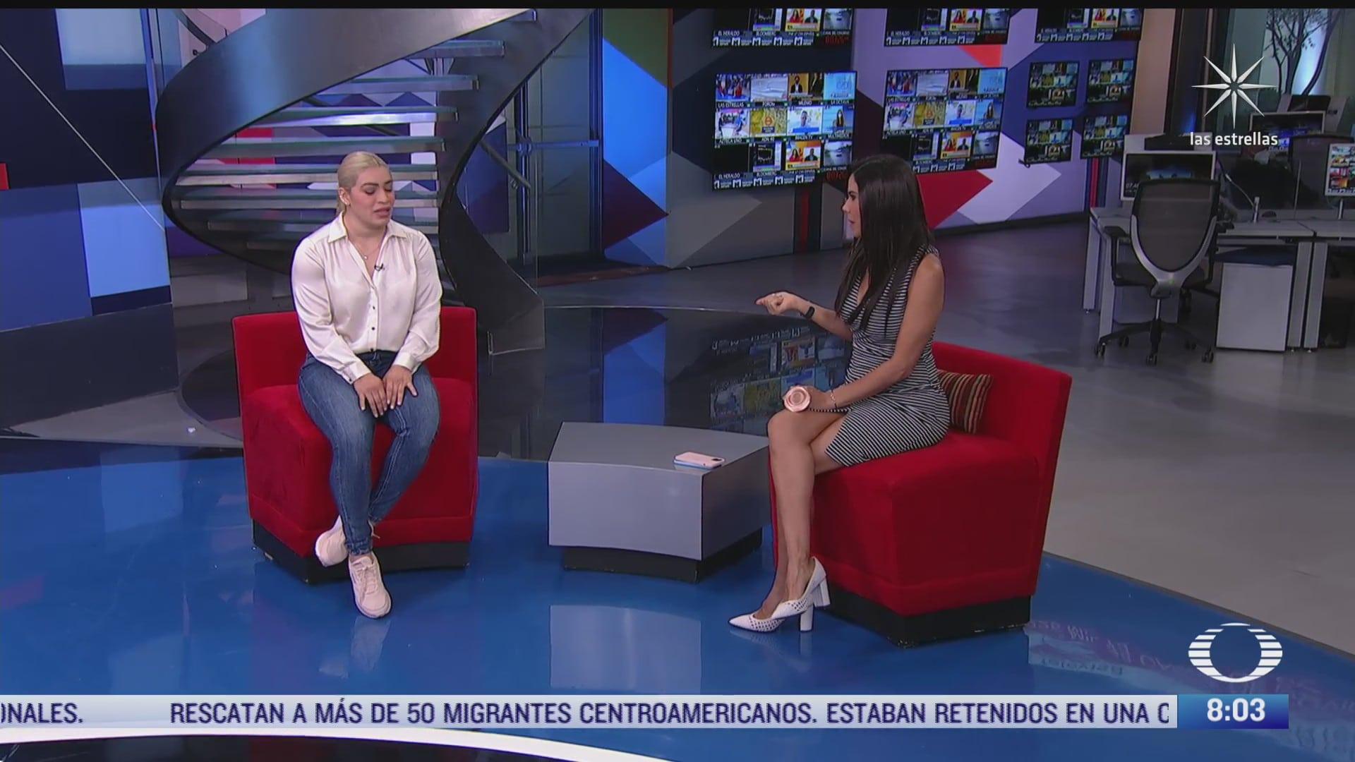 paola rojas entrevista a aremi fuentes medallista en halterofilia en tokyo
