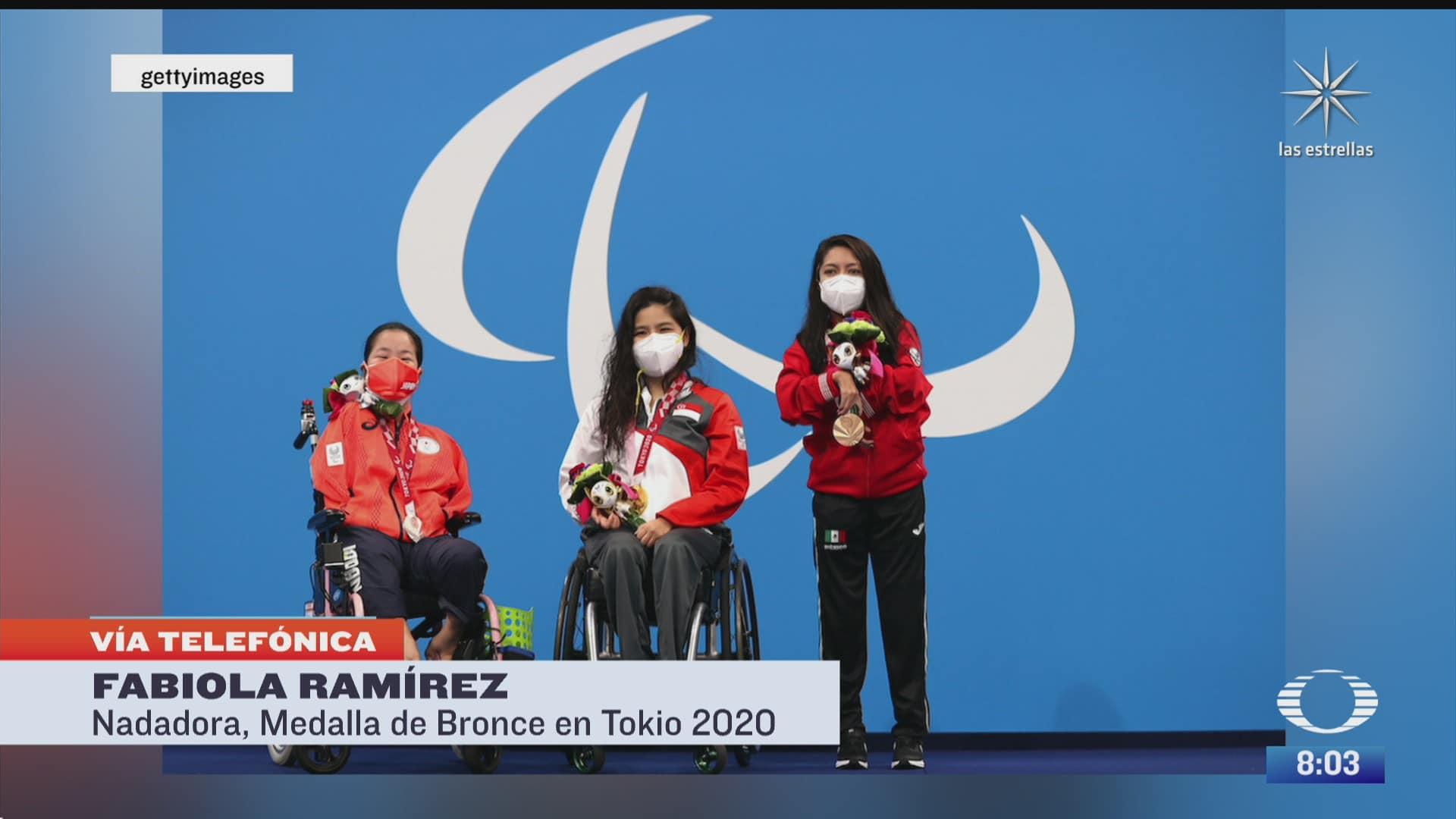 paola rojas entrevista a fabiola ramirez ganadora de bronce en juegos paralimpicos de tokyo