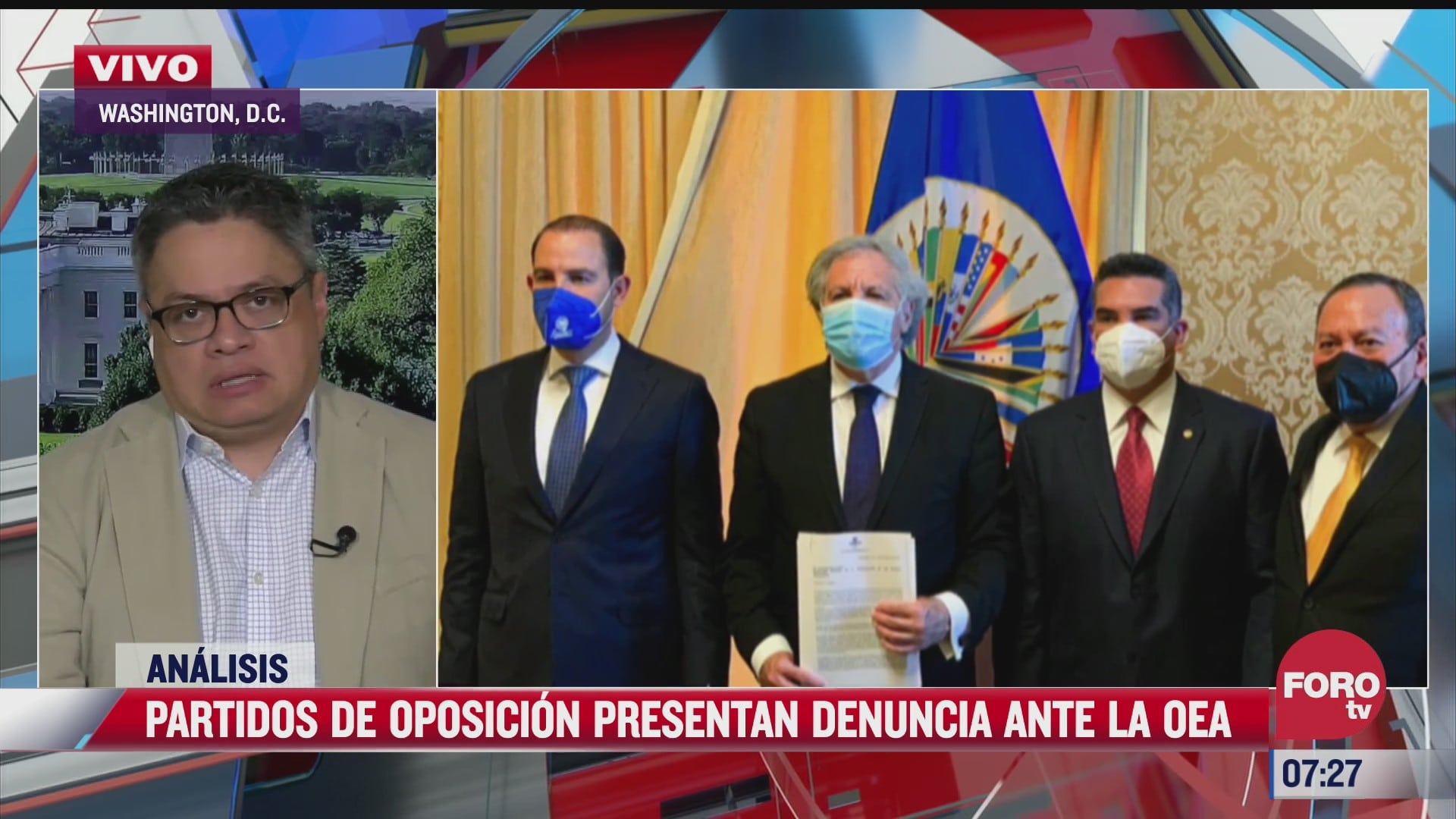 partidos de oposicion presentan denuncia en la oea el analisis en estrictamente personal