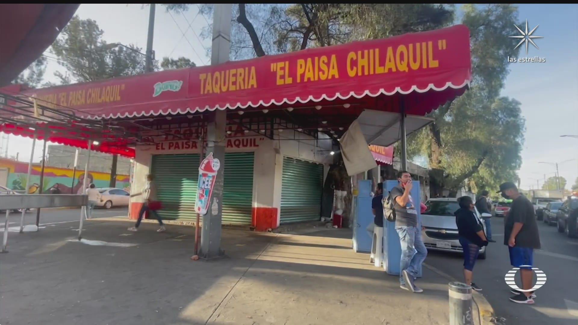 personal de taqueria agrede a joven repartidor en tlahuac