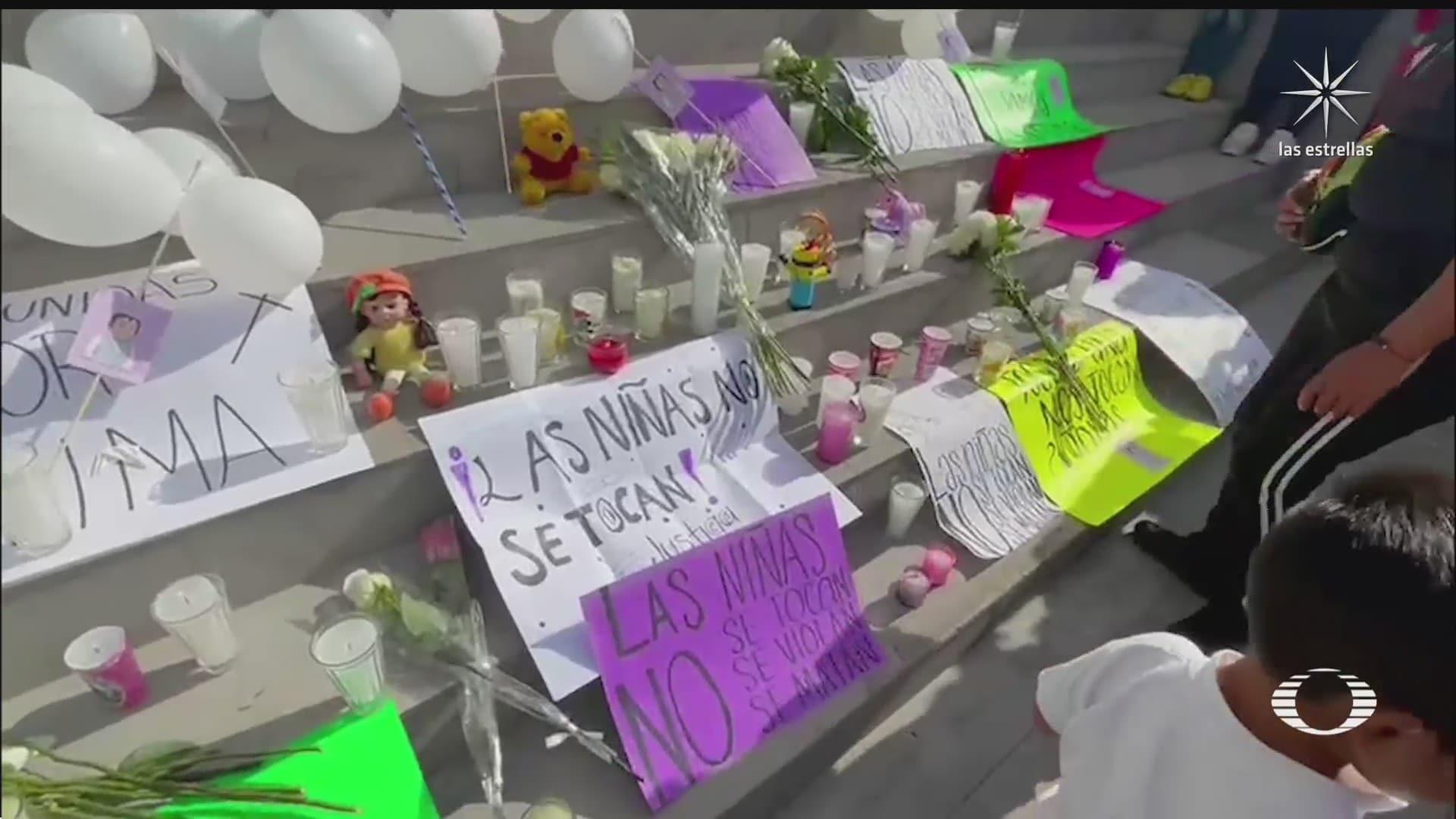 piden justicia por feminicidio de nina en milpa alta