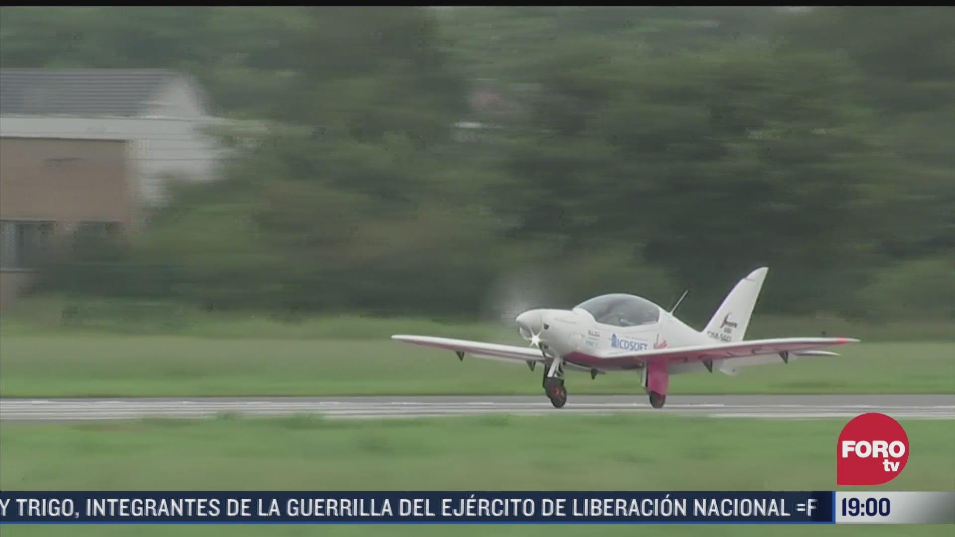 piloto de 19 anos despega para dar la vuelta al mundo