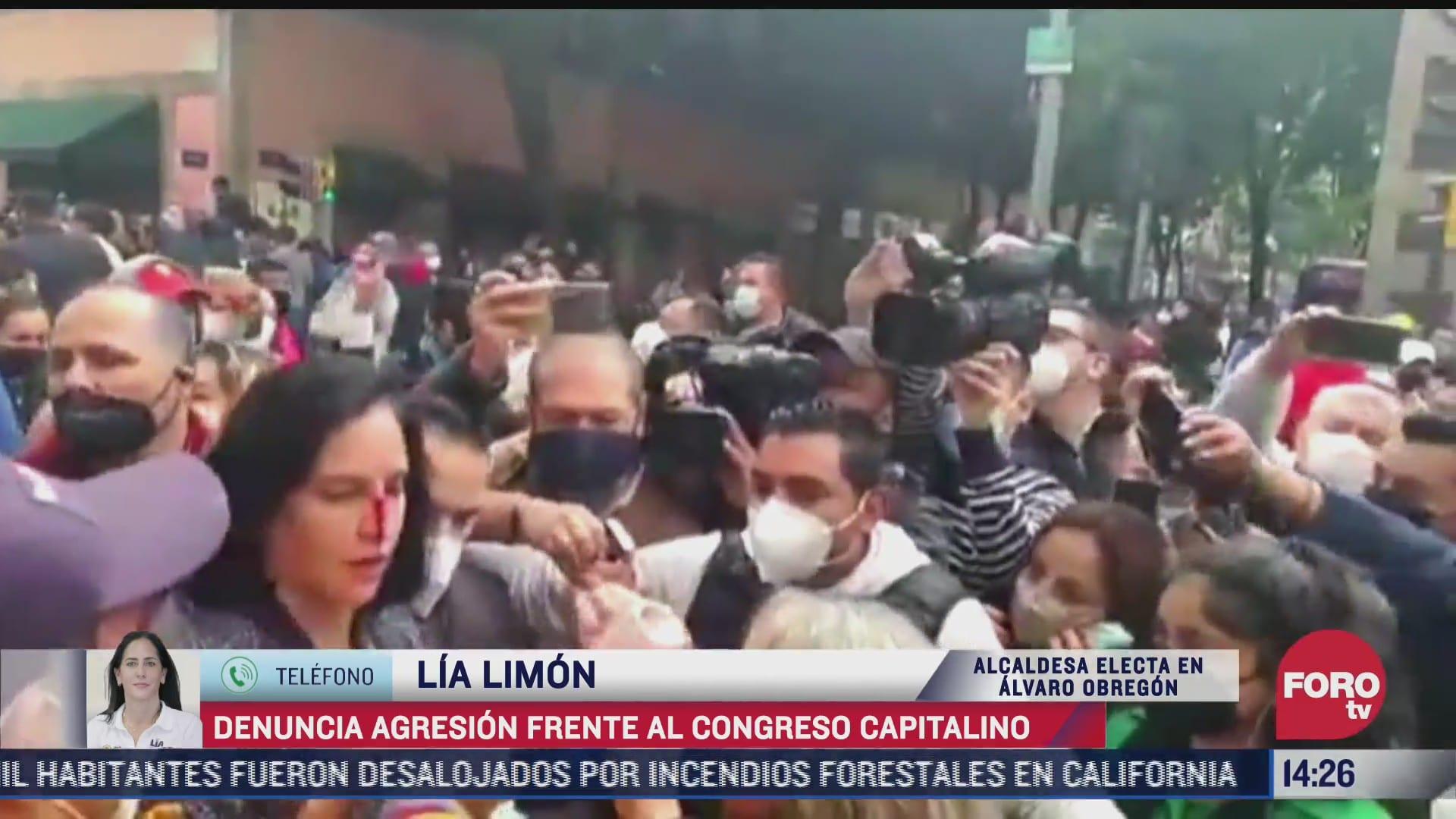 postura del gobierno de cdmx tras agresion a lia limon