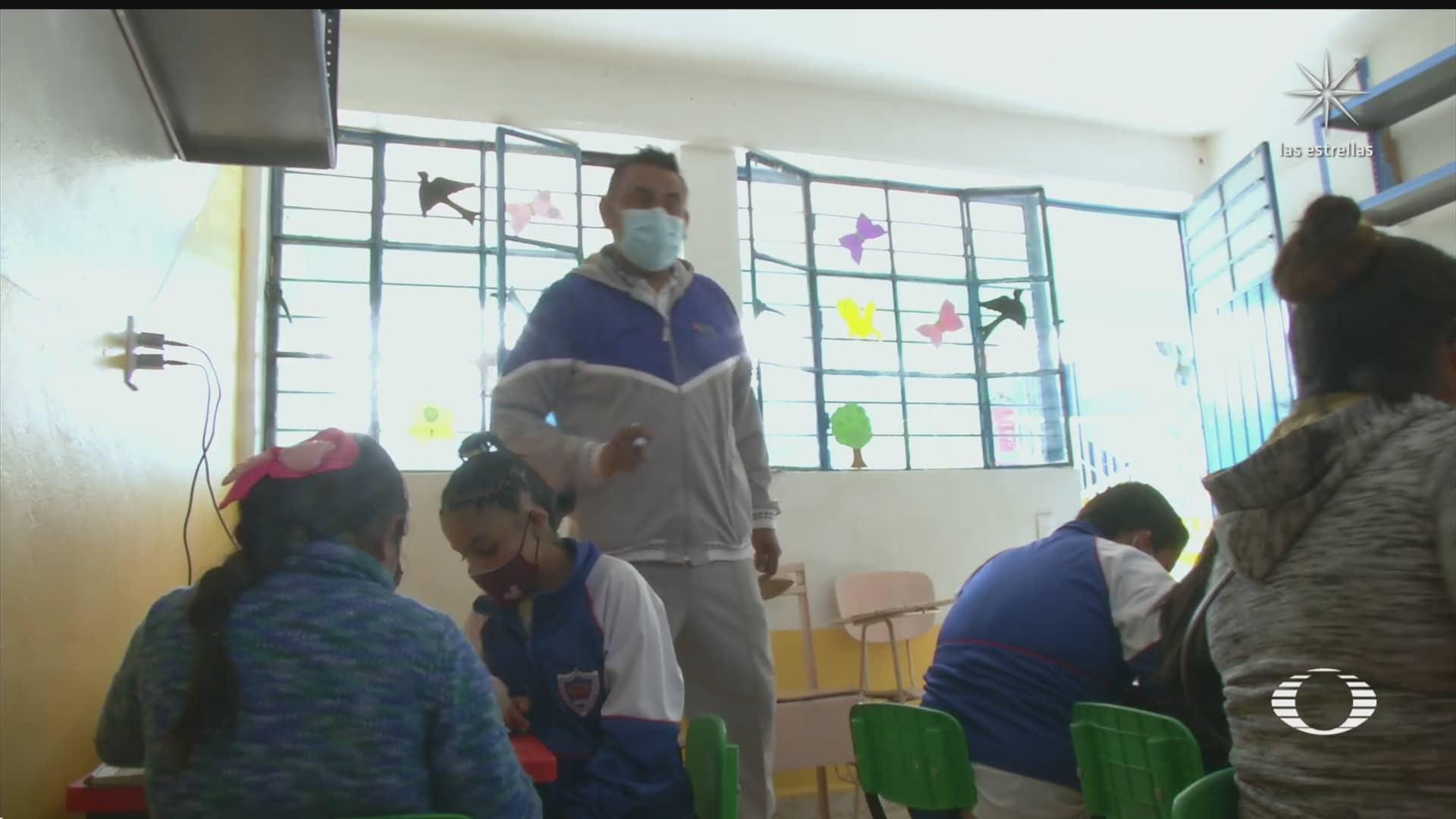 recolectores de basura en chimalhuacan anhelan regreso a clases presencial