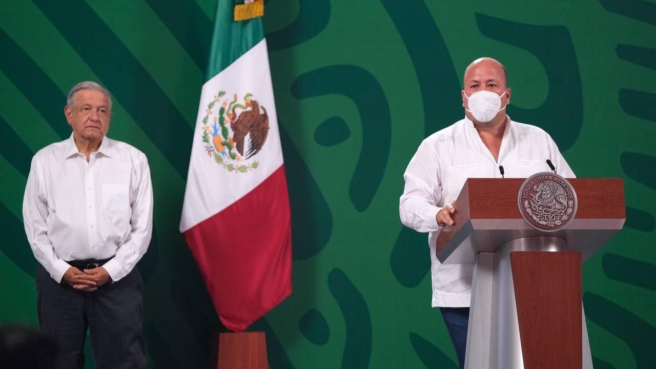 Conferencia AMLO Enrique Alfaro Delitos Jalisco