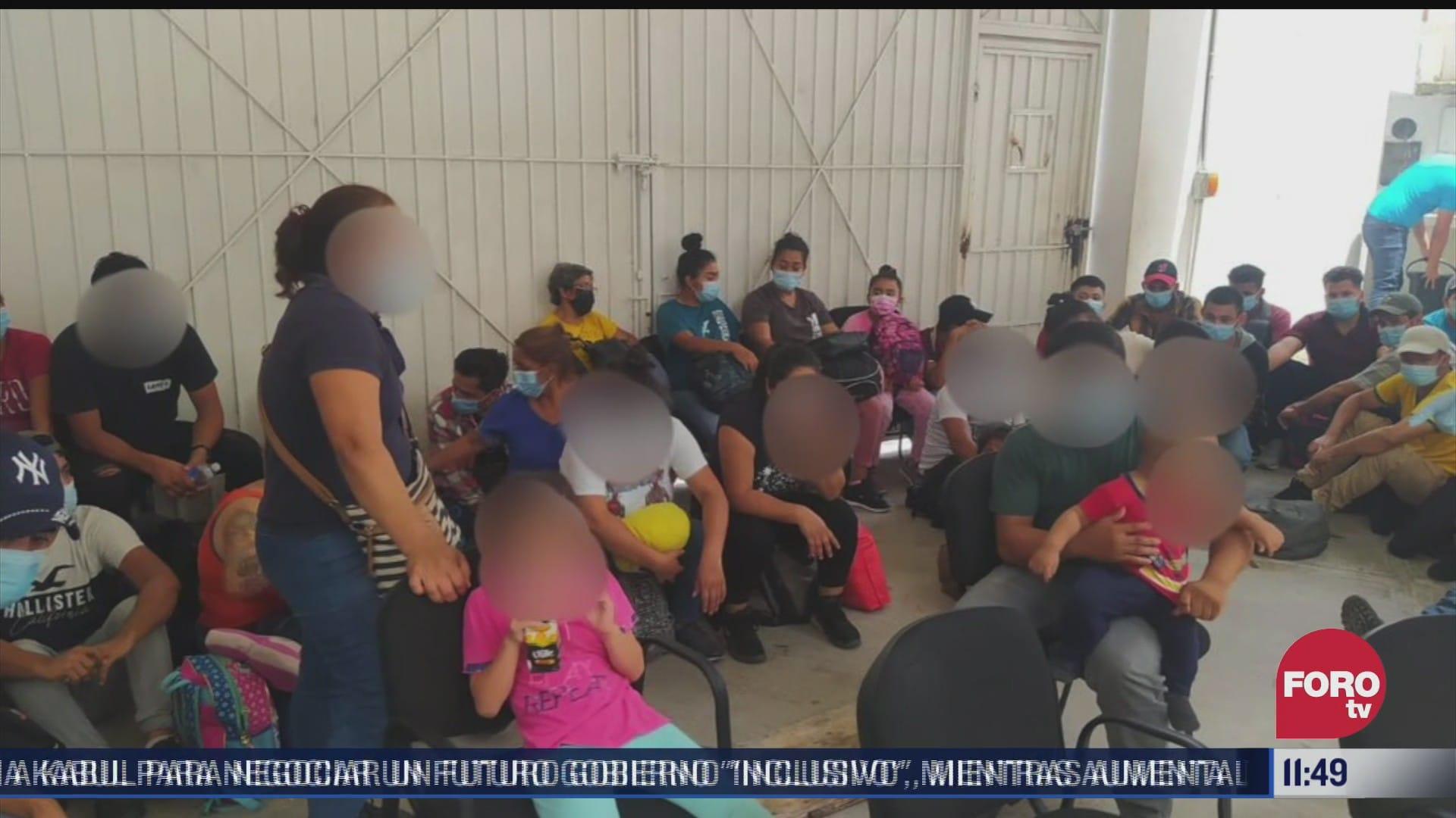 rescatan a 52 migrantes centroamericanos en quintana roo