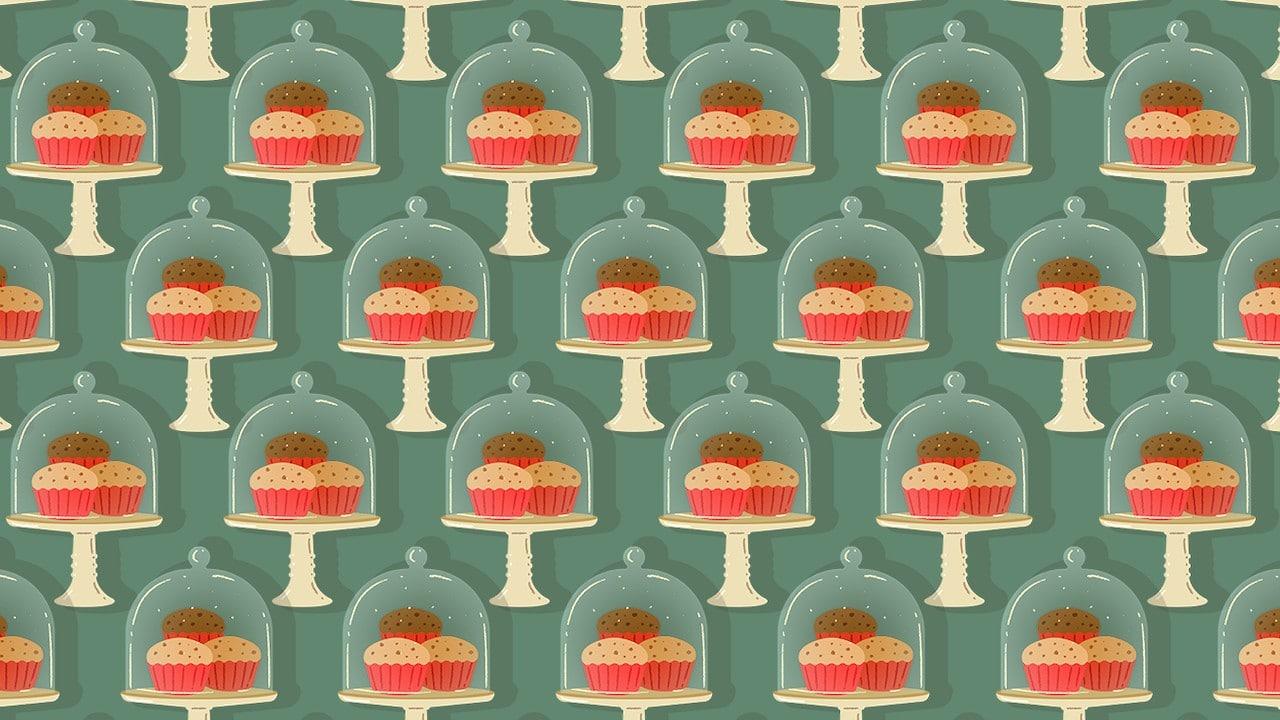 Encuentra las bomboneras con fruta, ilustración