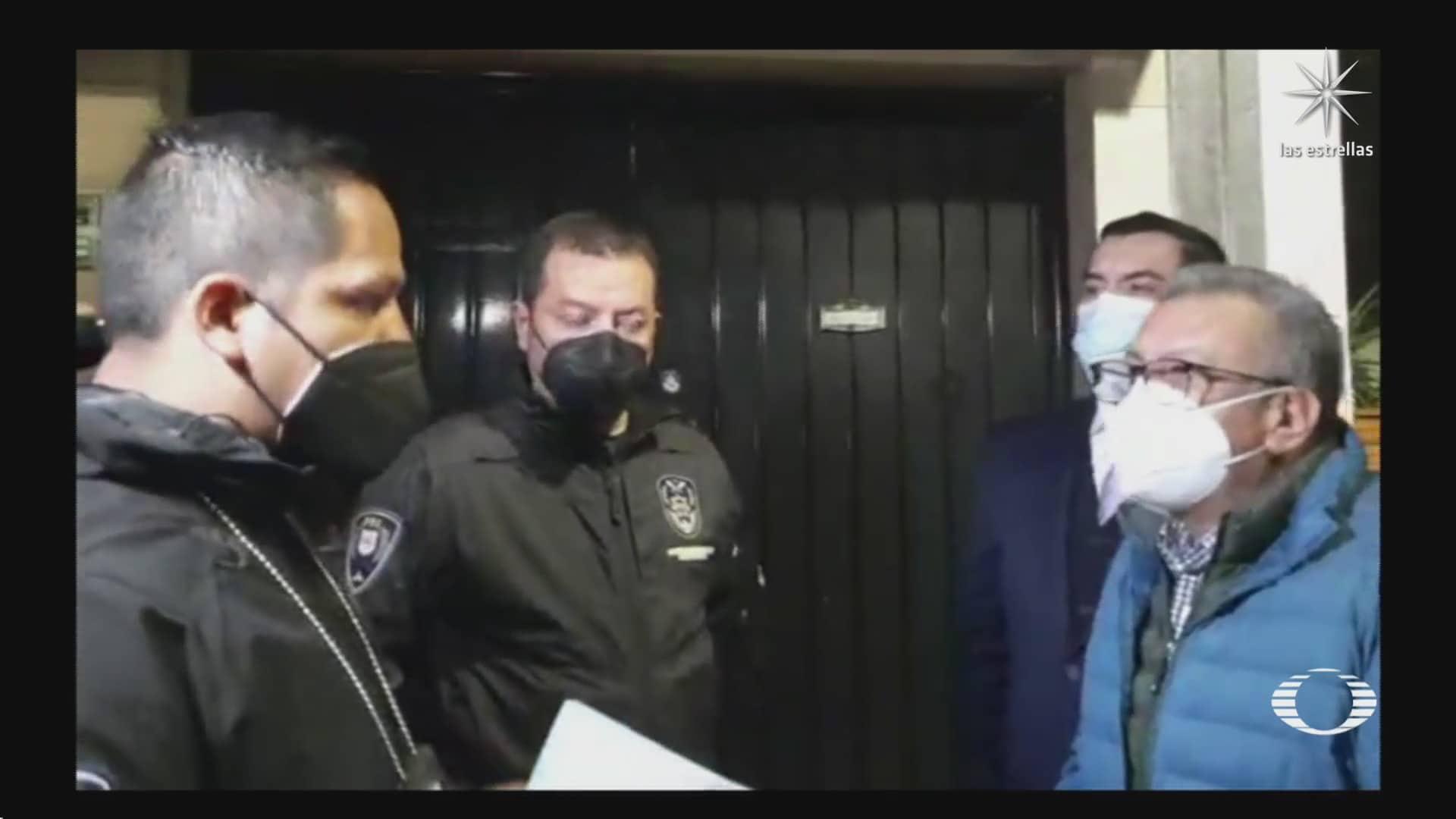 saul huerta detenido y procesado