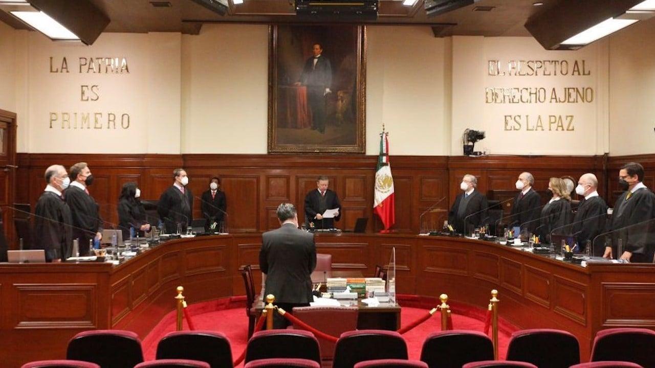 Sesión en la Suprema Corte de Justicia de la Nación (SCJN) (Cuartoscuro)