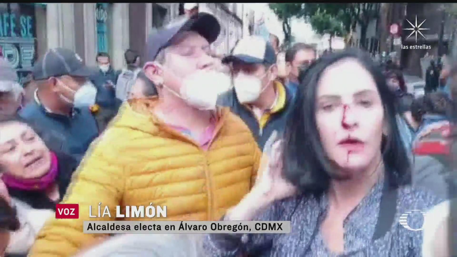 se enfrentan alcaldes electos y policias de la cdmx