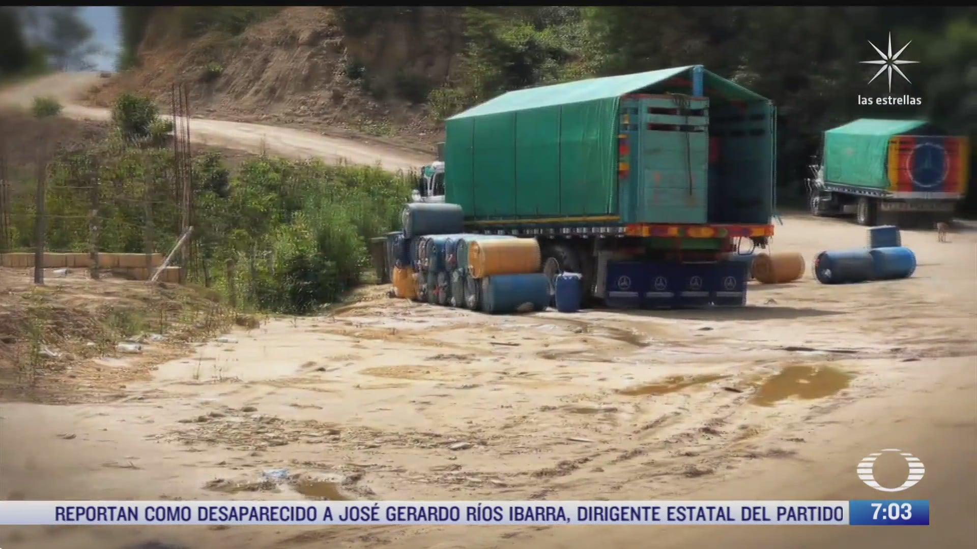 se extiende en mexico el contrabando de combustible