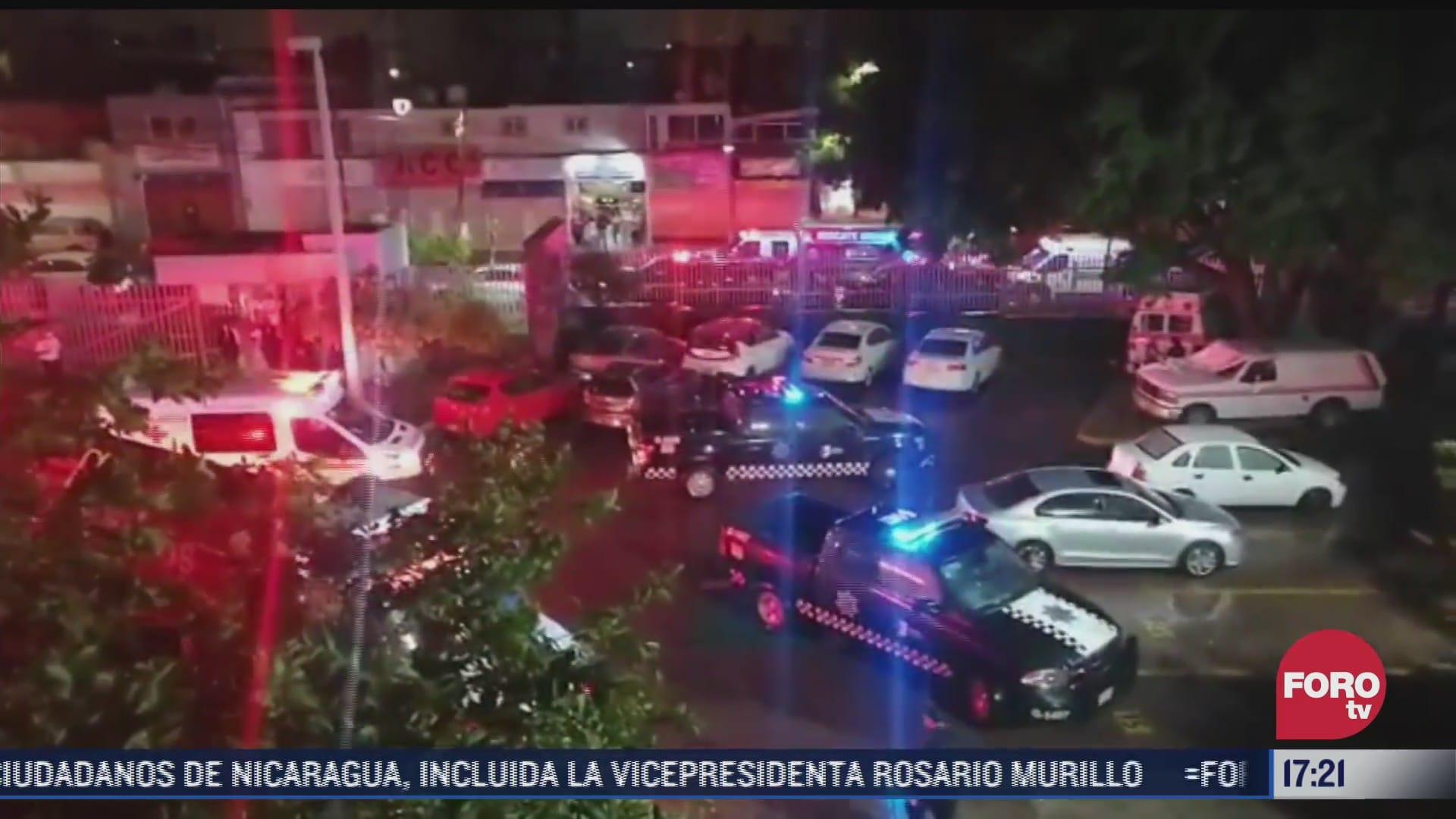 se registra incendio en el sotano del hospital civil de guadalajara