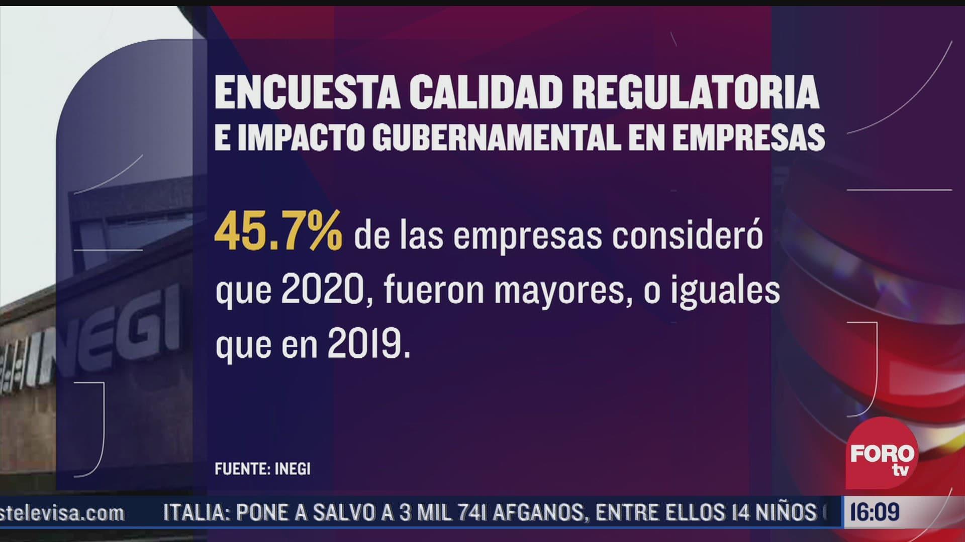 sube costo de regulaciones para empresas en mexico
