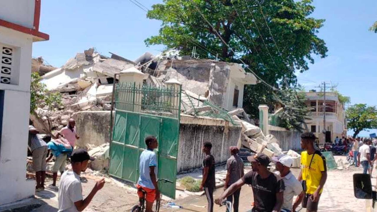 Protección Civil de Haití confirma al menos 29 muertos por el terremoto que sacudió ese país caribeño