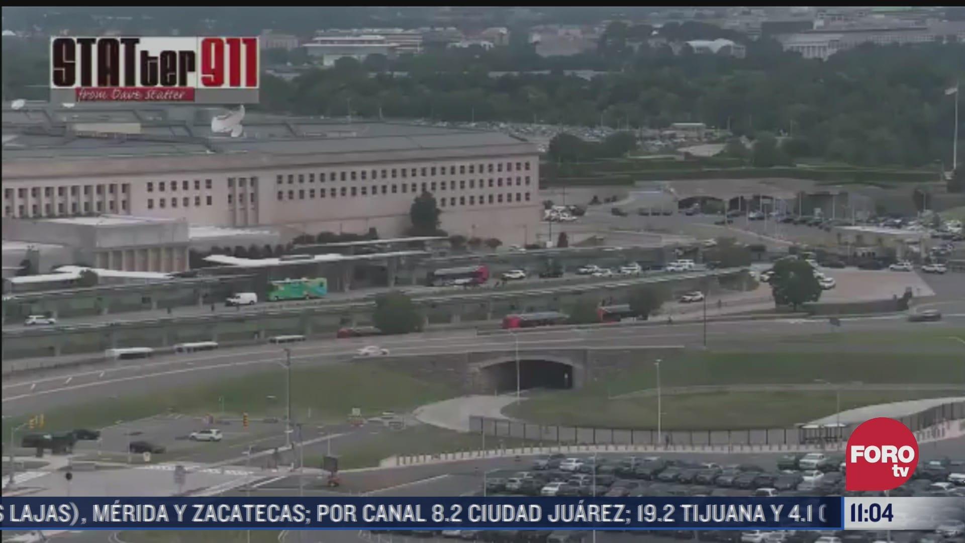 tiroteo cerca de instalaciones del pentagono deja un herido