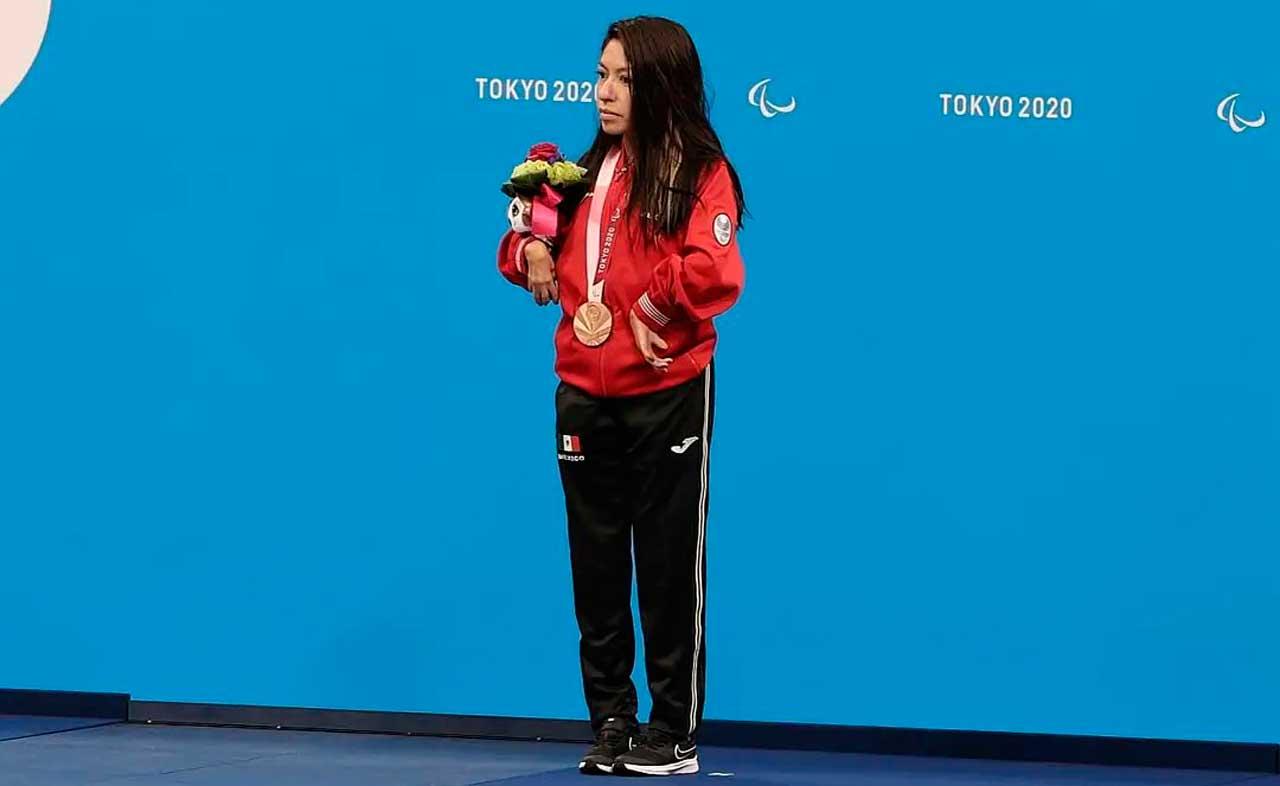 Fabiola Ramírez, primera medalla de México en los Juegos Paralímpicos de Tokio 2020