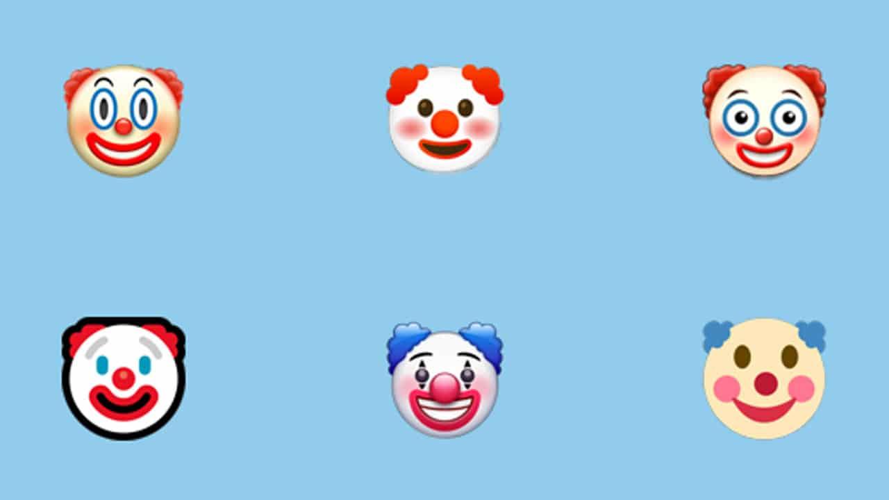 WhatsApp Verdadero significado del emoji de payaso