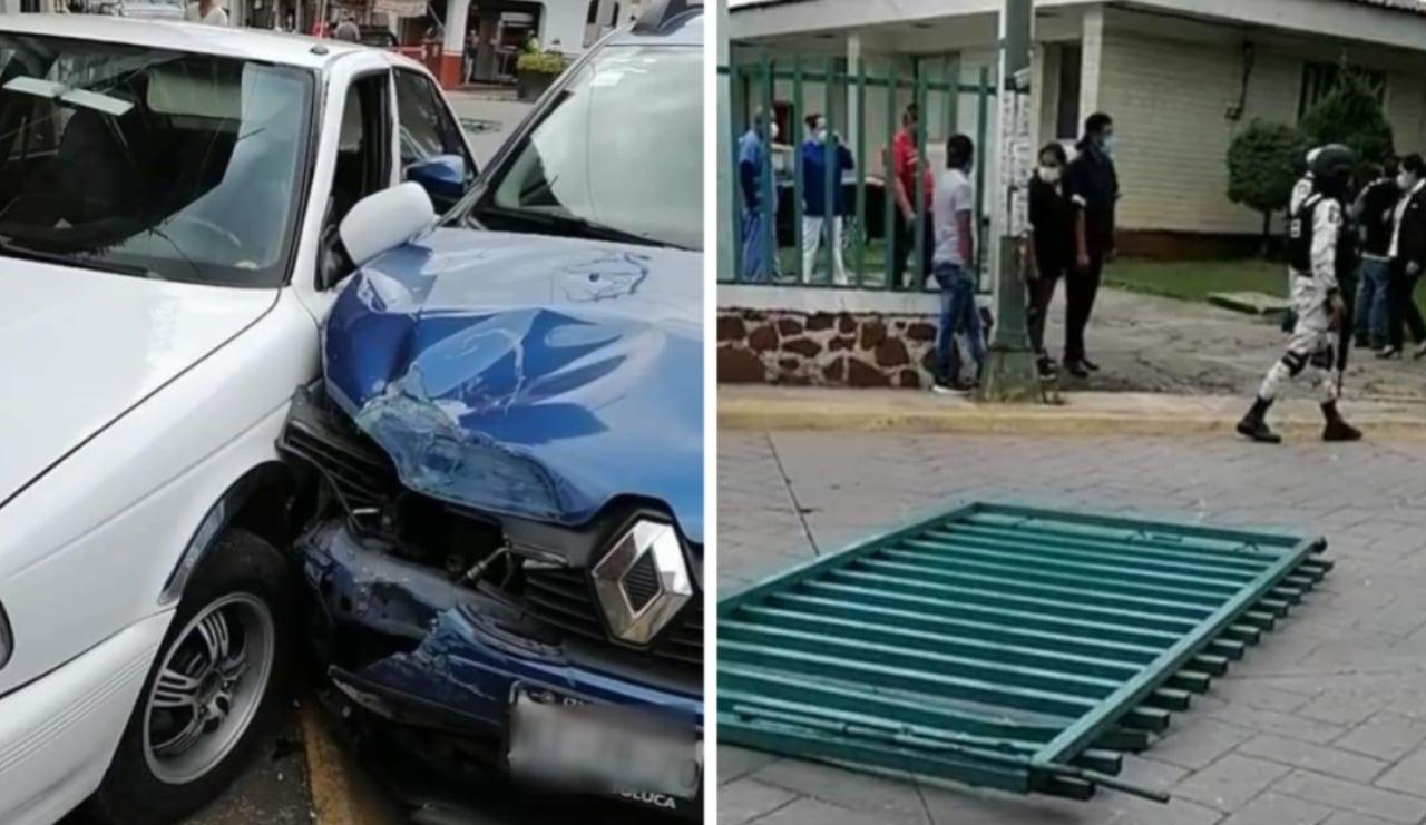 Paciente covid se fuga de hospital