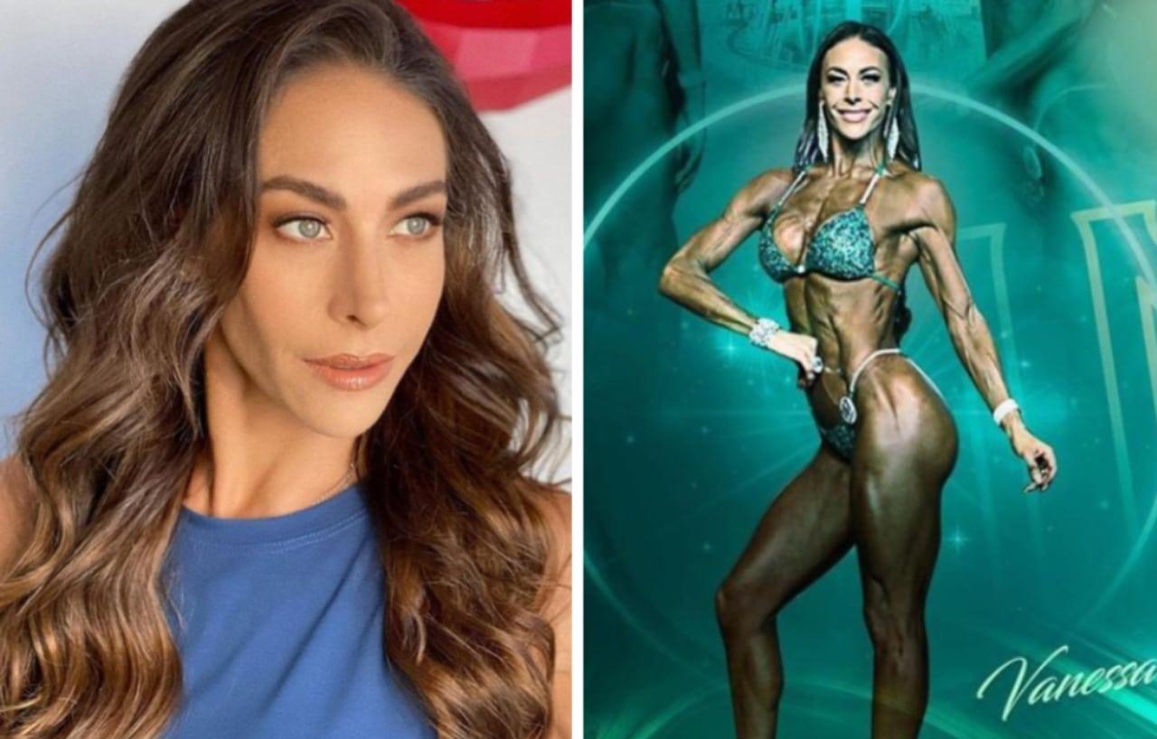 Vanessa Guzmán gana 3 medallas de fitness