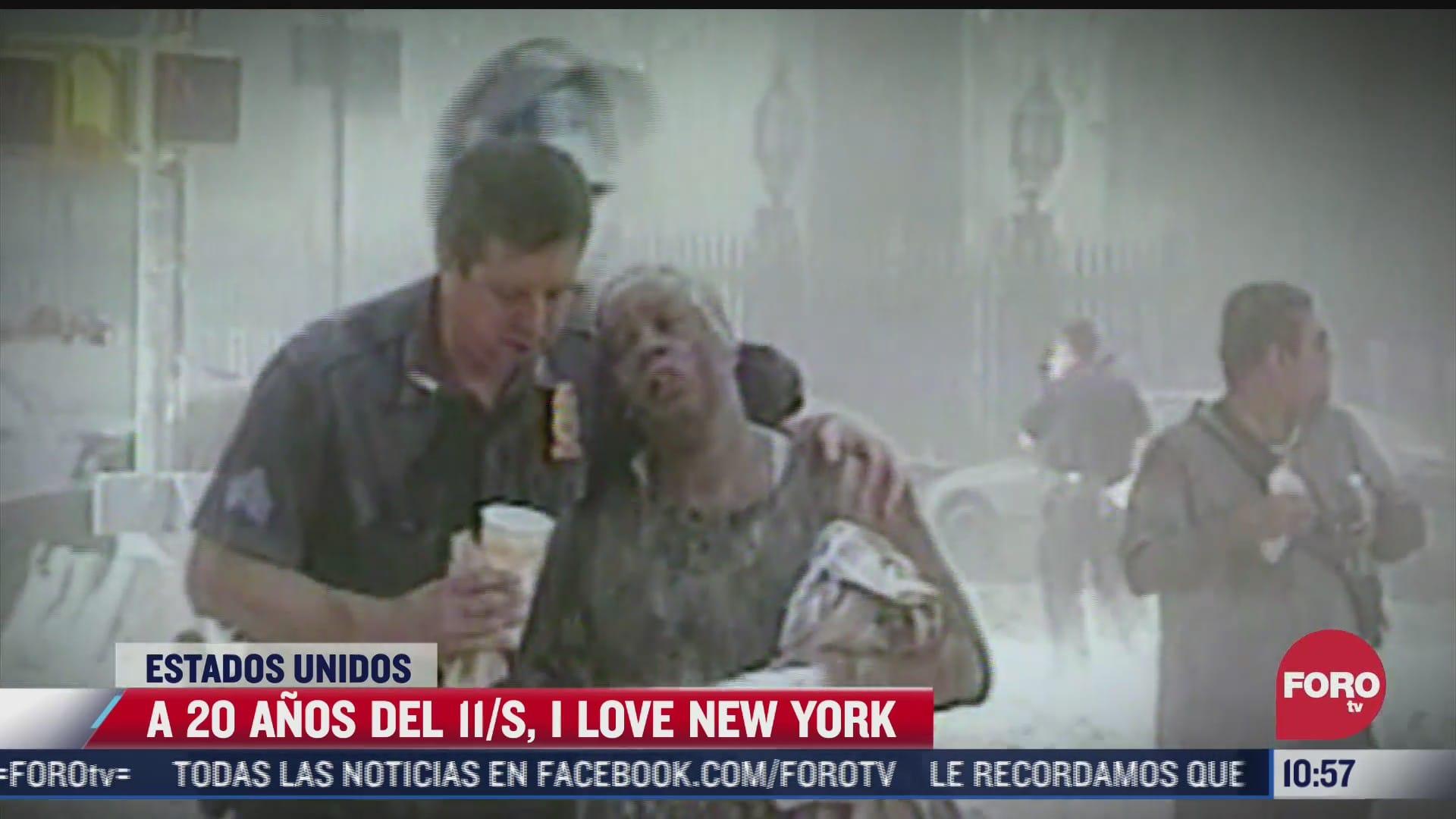 a 20 anos del 11 s i love new york