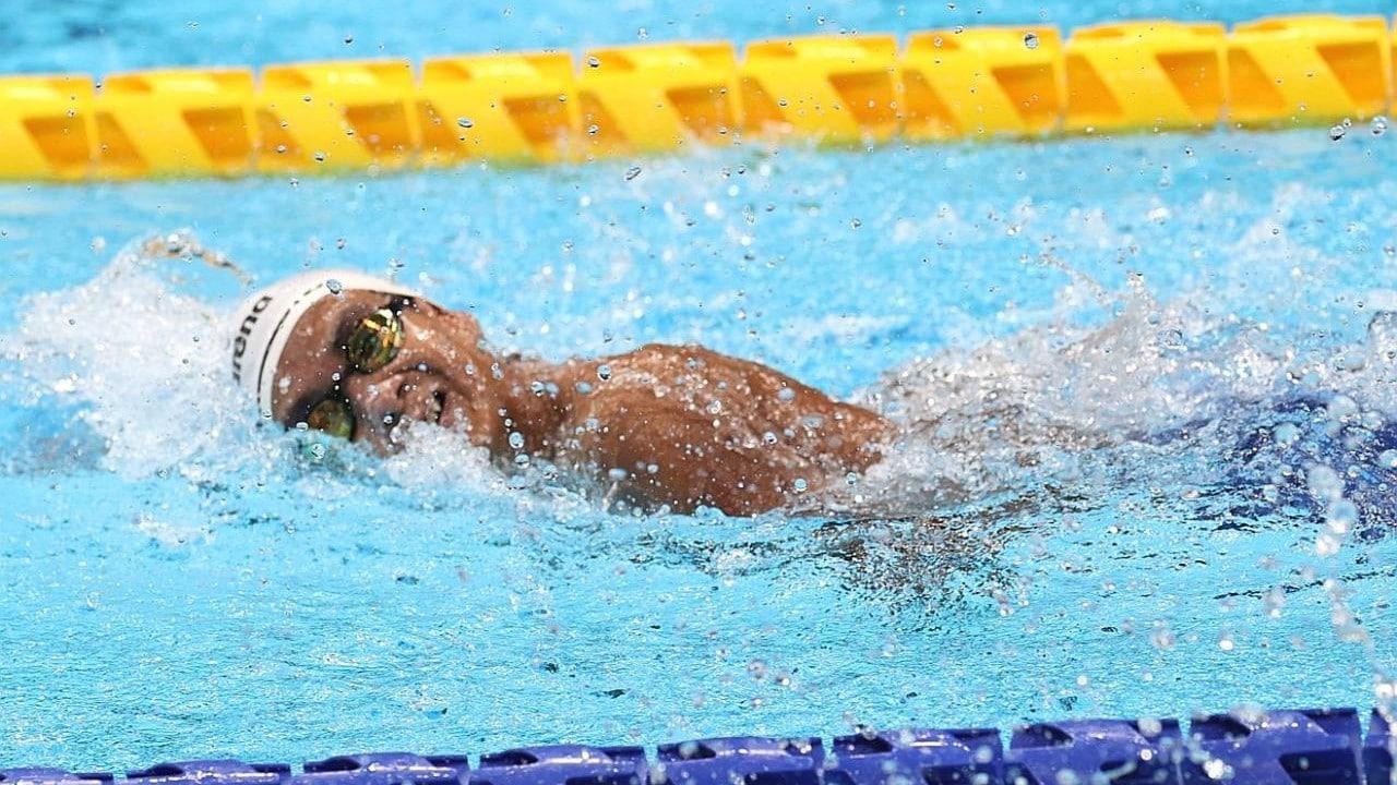 A sus 16 años, Ángel de Jesús Camacho consiguió bronce en natación en Juegos Paralímpicos de Tokyo 2020