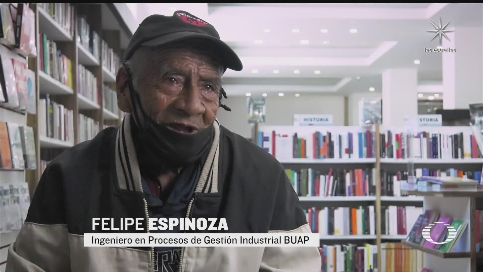 abuelito se gradua como ingeniero